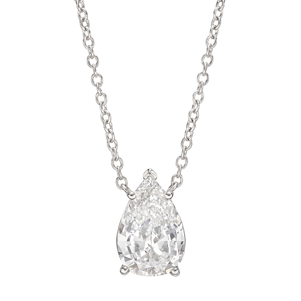 necklace quebec westmount b daisy pendant shaped pear montreal products exclusive double halo diamond