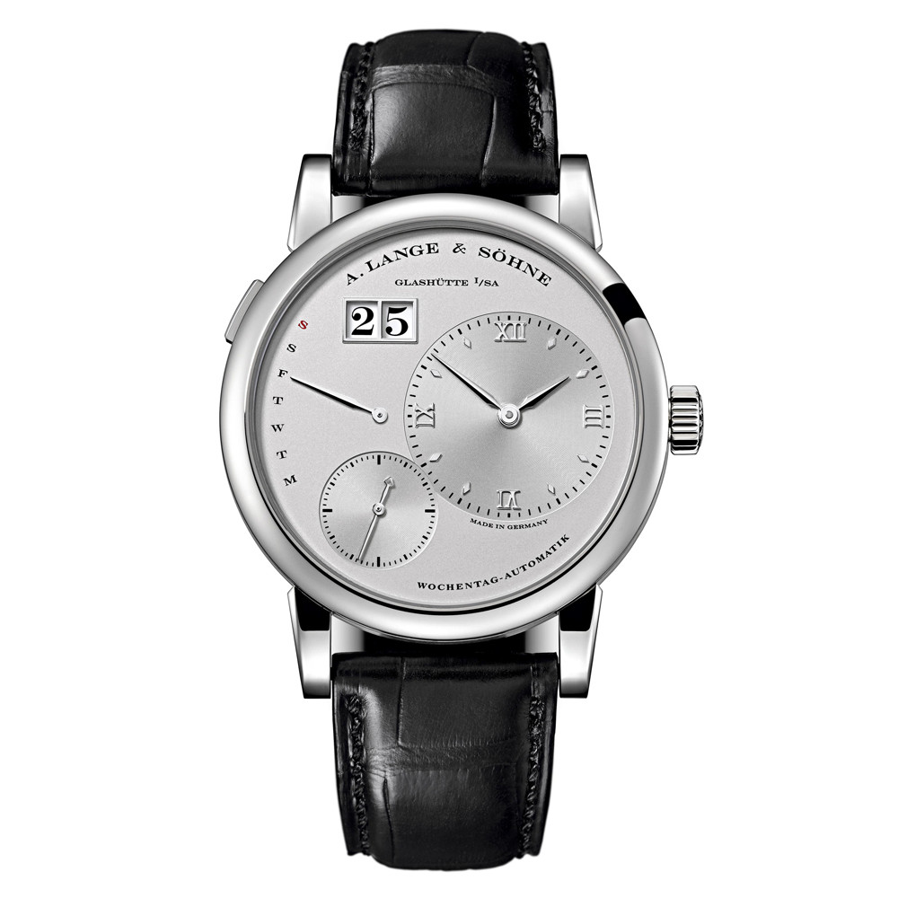 Lange 1 Daymatic Platinum (320.025)