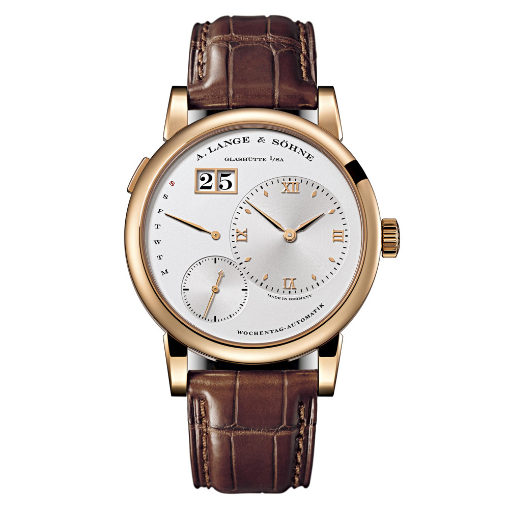 Lange 1 Daymatic Rose Gold (320.032)