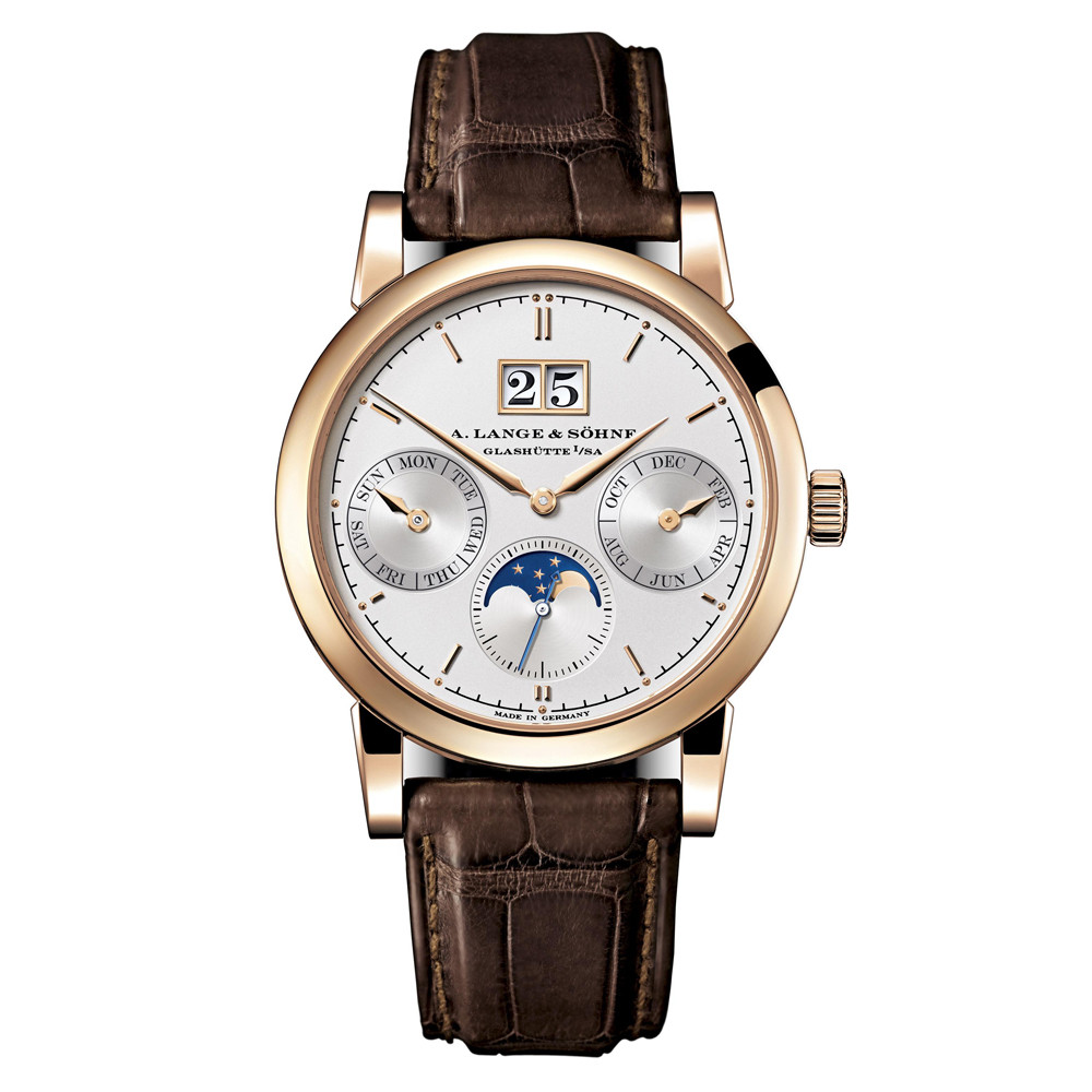 Saxonia Annual Calendar Rose Gold (330.032)