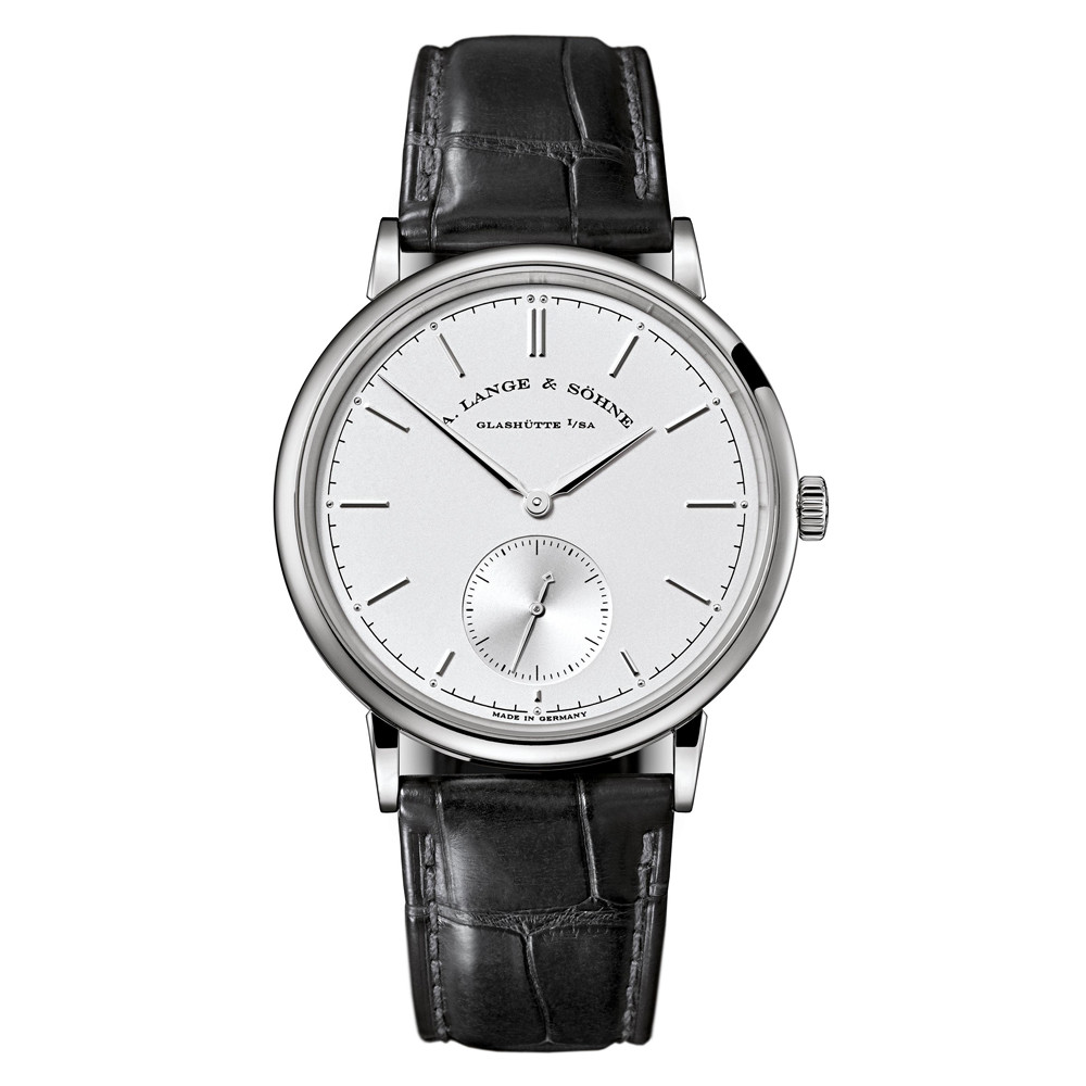 Saxonia Automatic White Gold (380.026)