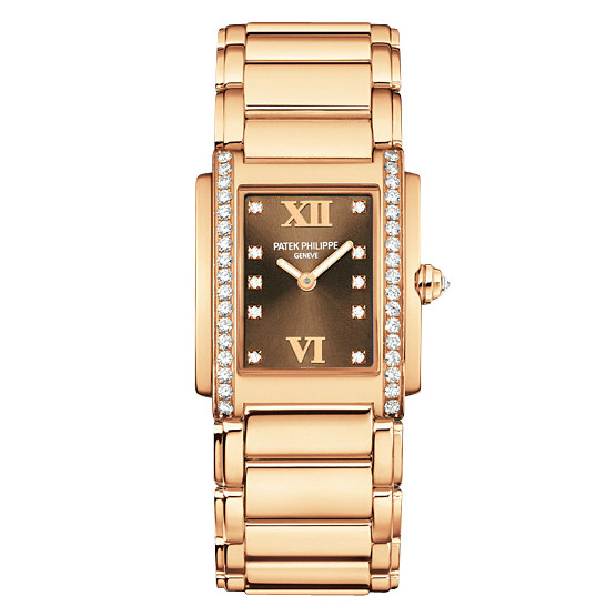 Ladies' Twenty-4 Rose Gold (4910/11R-010)