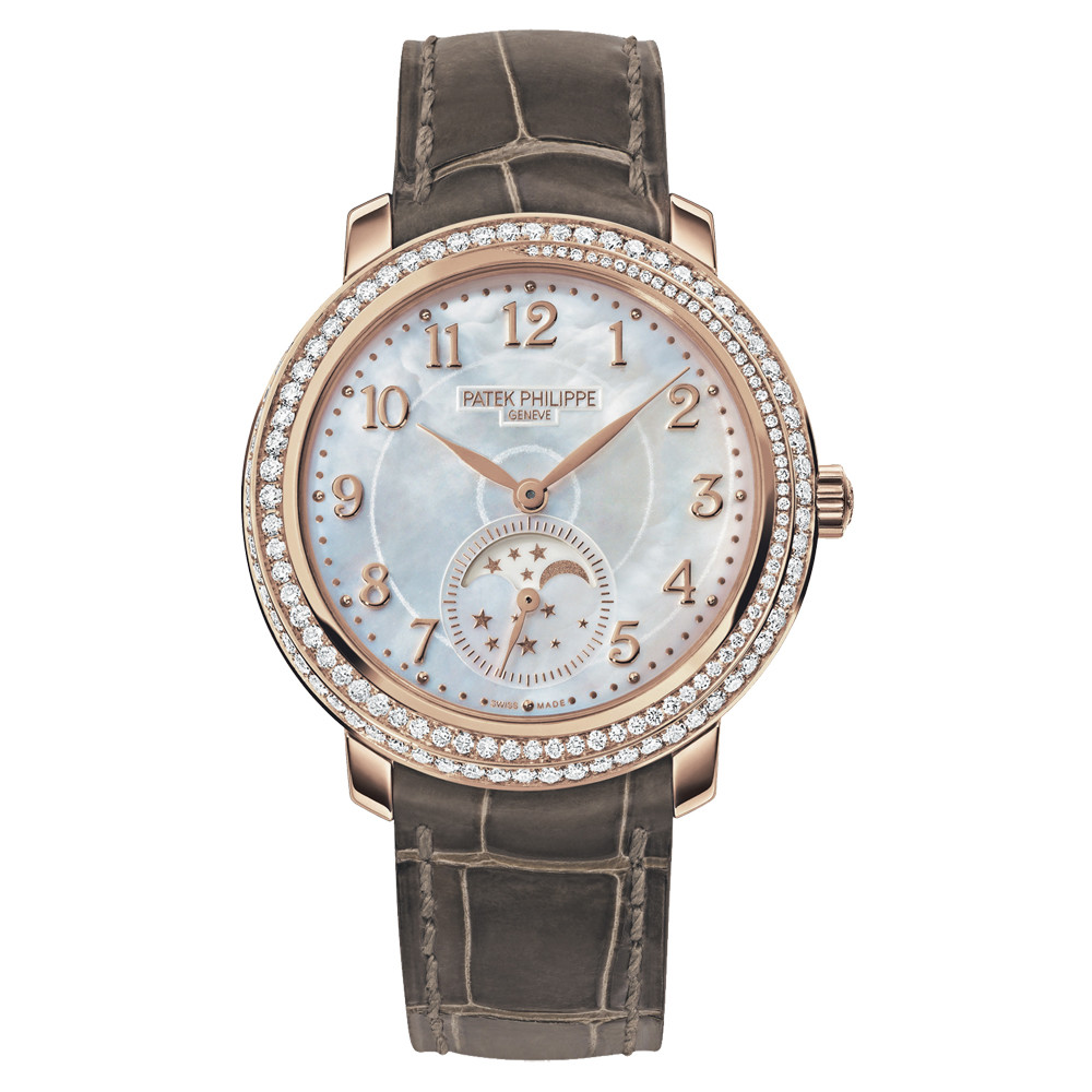 Ladies' Moon Phase Rose Gold (4968R-001)