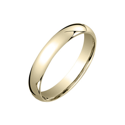 ​18k Yellow Gold Comfort Fit Wedding Band (4mm)