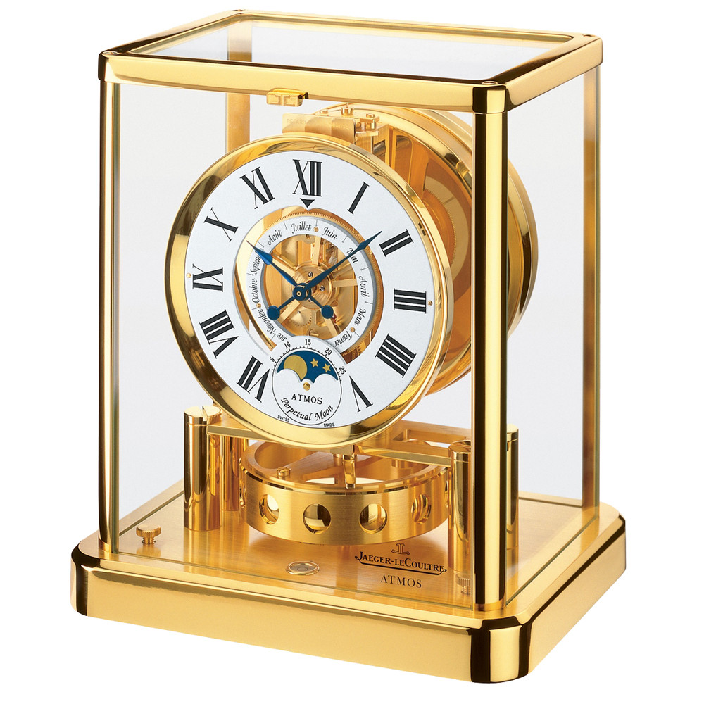 ATMOS Classique Phases de Lune Gold-Plated (5111202)