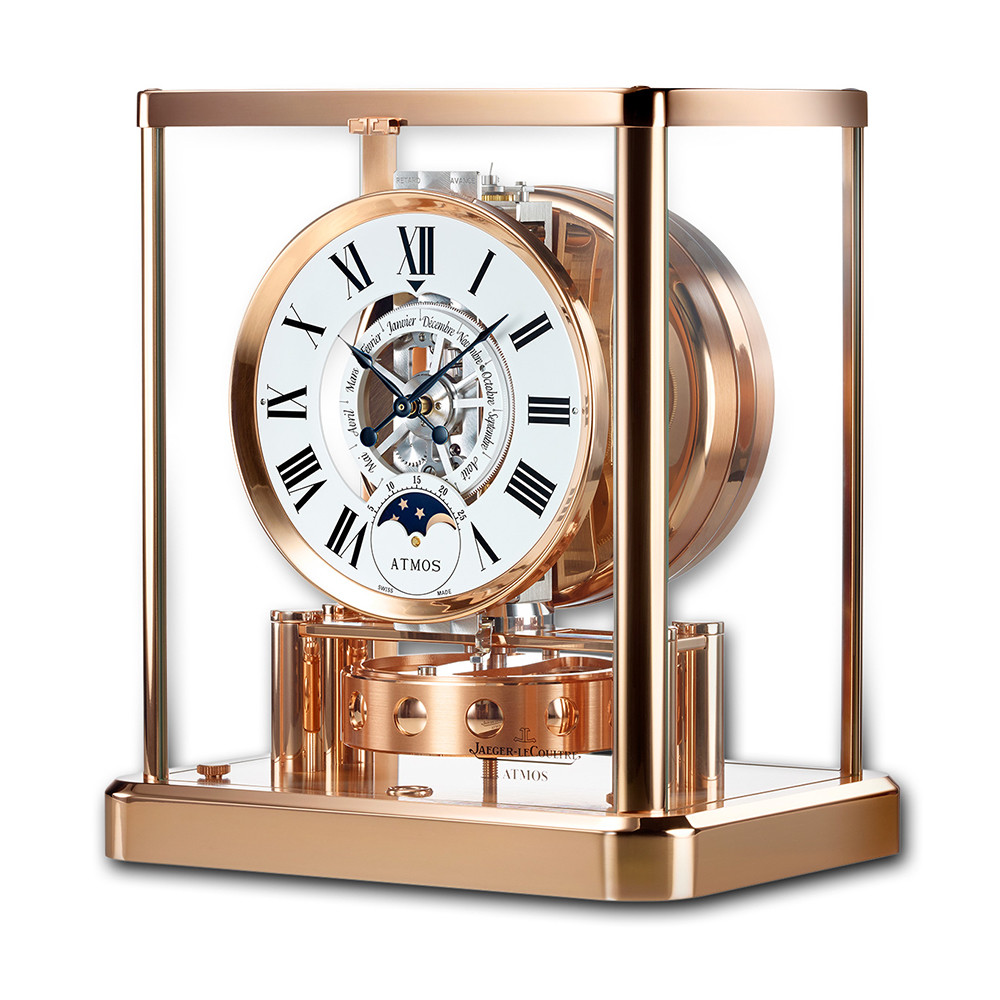 ATMOS Classique Phases de Lune Rose Gold-Plated (5117201)