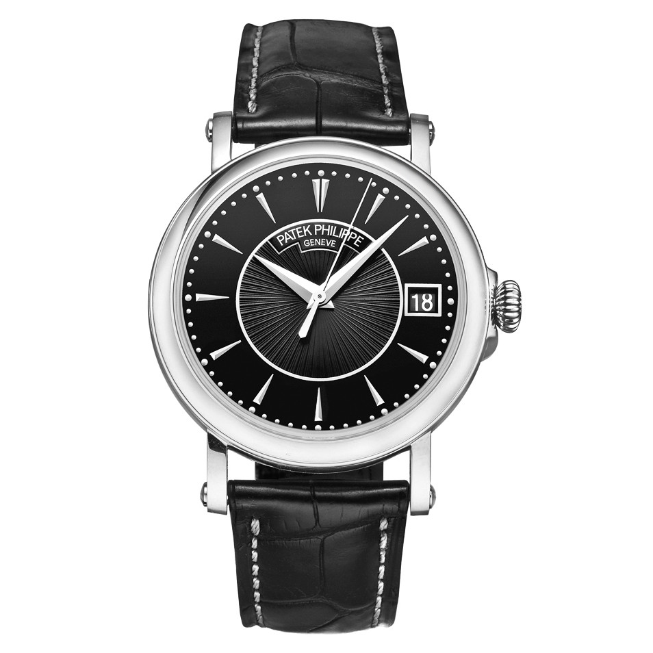 "Calatrava ""Officer's Watch"" White Gold (5153G)"