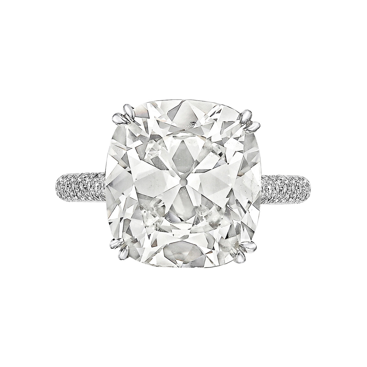 6.06ct Cushion-Cut Diamond Ring (I/VVS2)