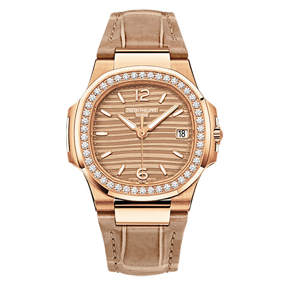 ​Ladies' Nautilus Rose Gold (7010R-012)