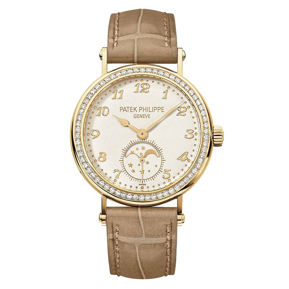 Ladies' Moon Phase Yellow Gold (7121J-001)