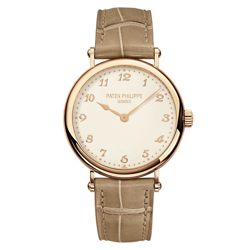 Patek philippe 7200r 001 ladies 39 calatrava rose gold for Patek philippe women