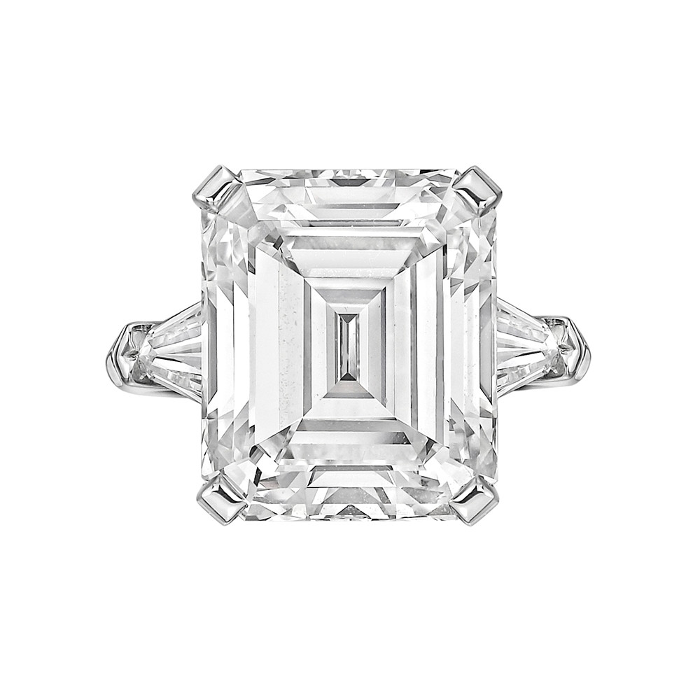 9.47ct Emerald-Cut Diamond Ring