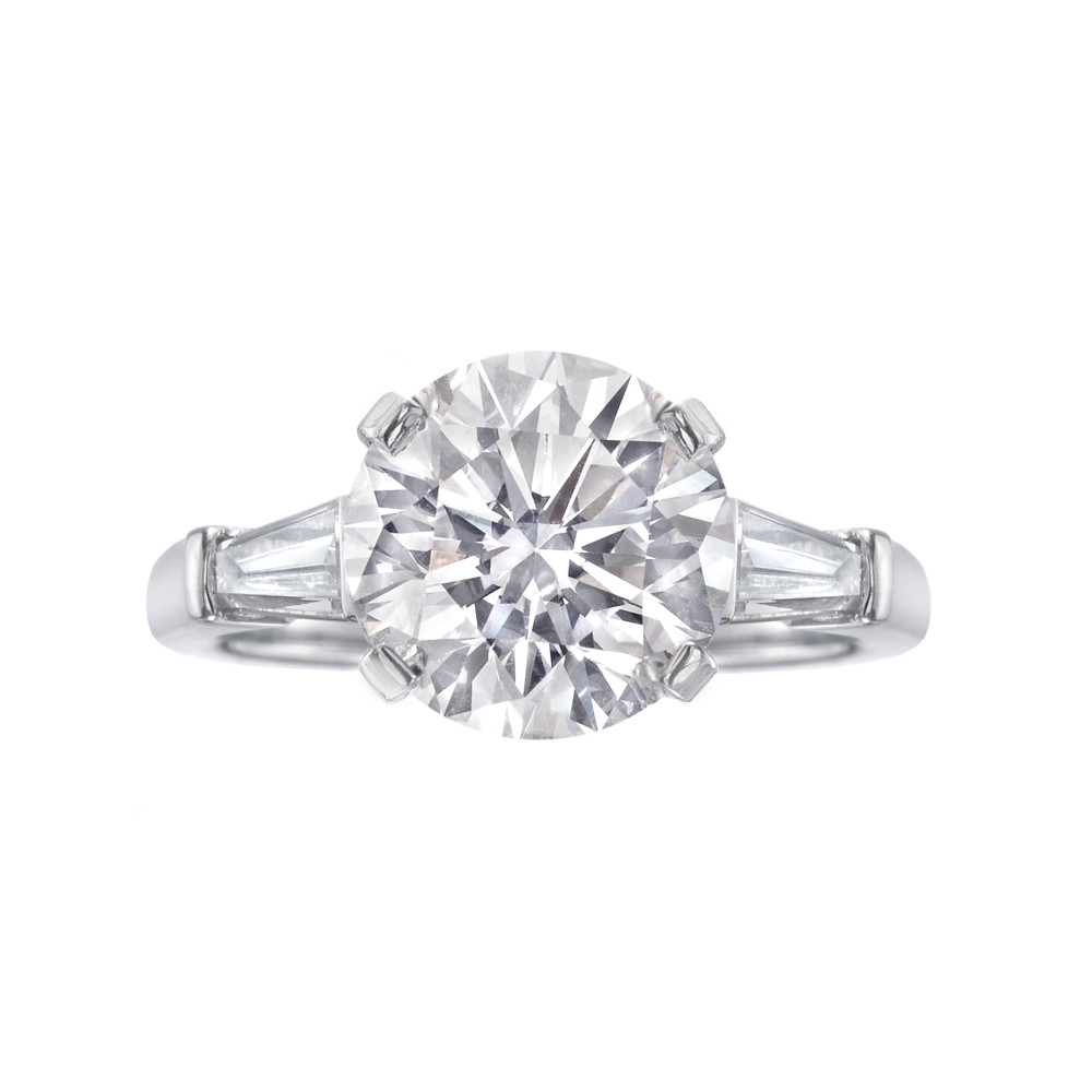 Betteridge 3 06 Carat Round Brilliant Cut Diamond Engagement Ring Betteridge