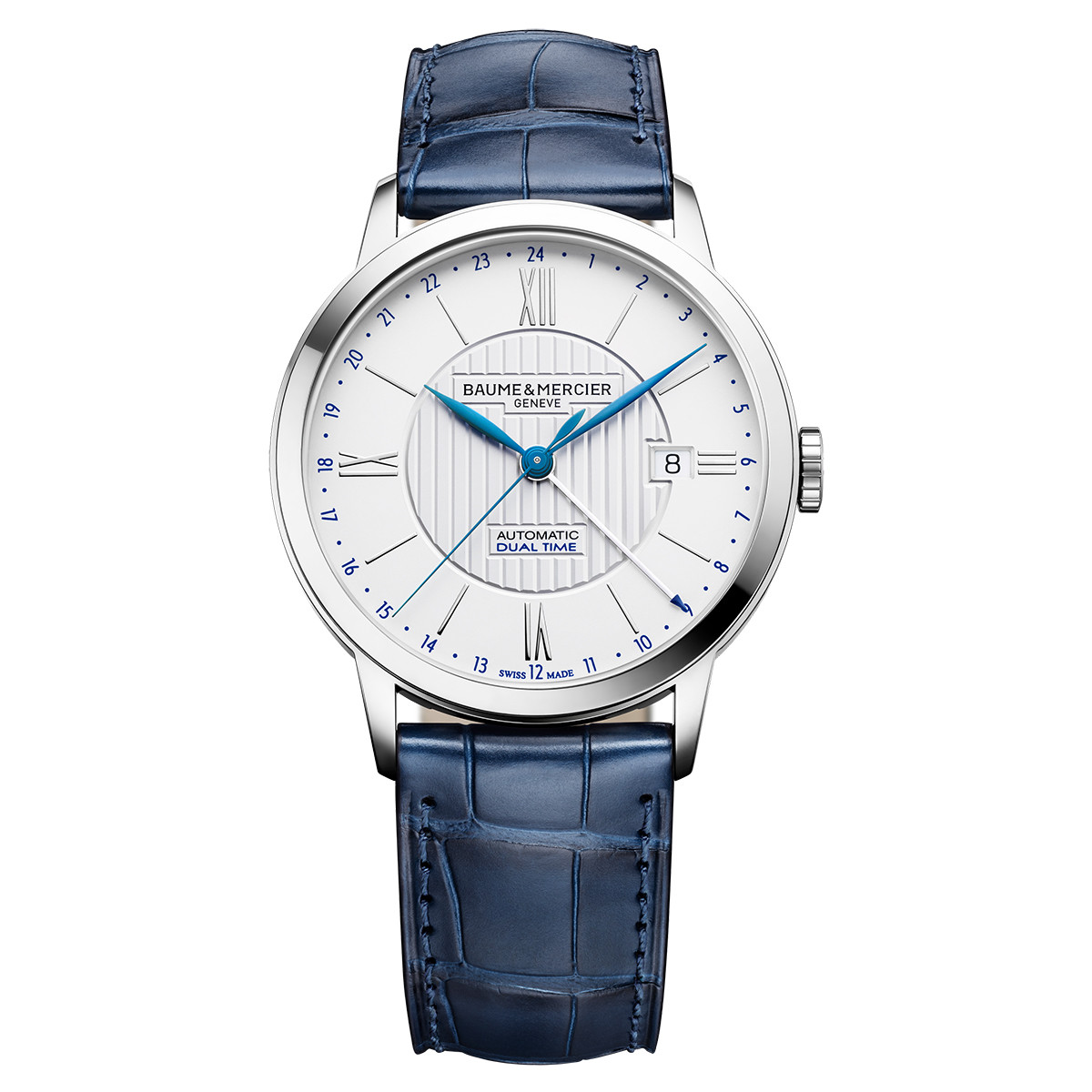 Classima Dual Time 40mm Steel (10272)