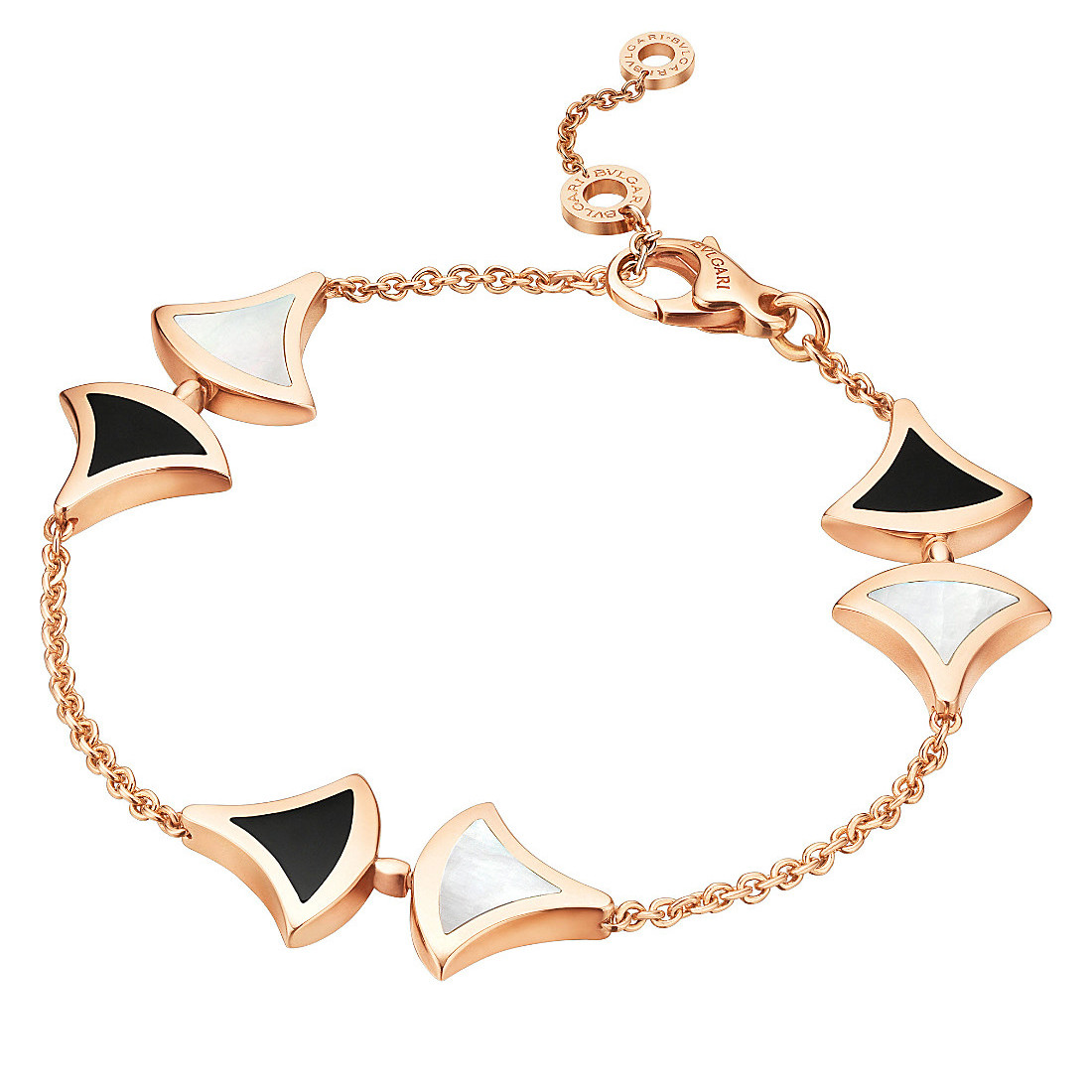 "Mother-of-Pearl & Black Onyx ""Divas' Dream"" Bracelet"