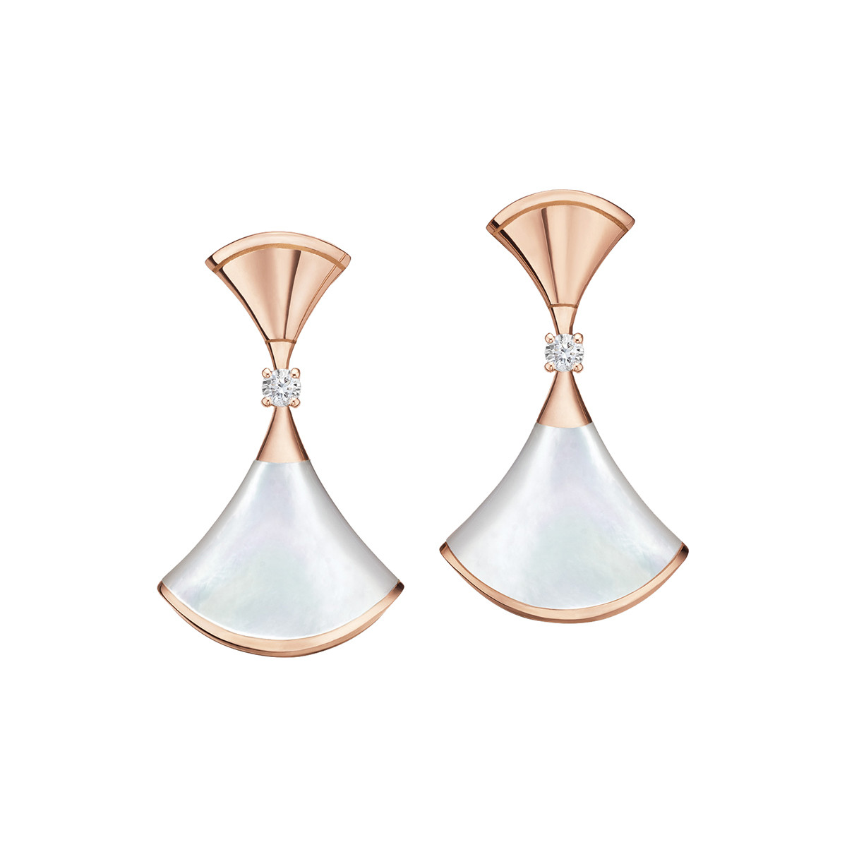 "Mother-of-Pearl ""Divas' Dream"" Drop Earrings"