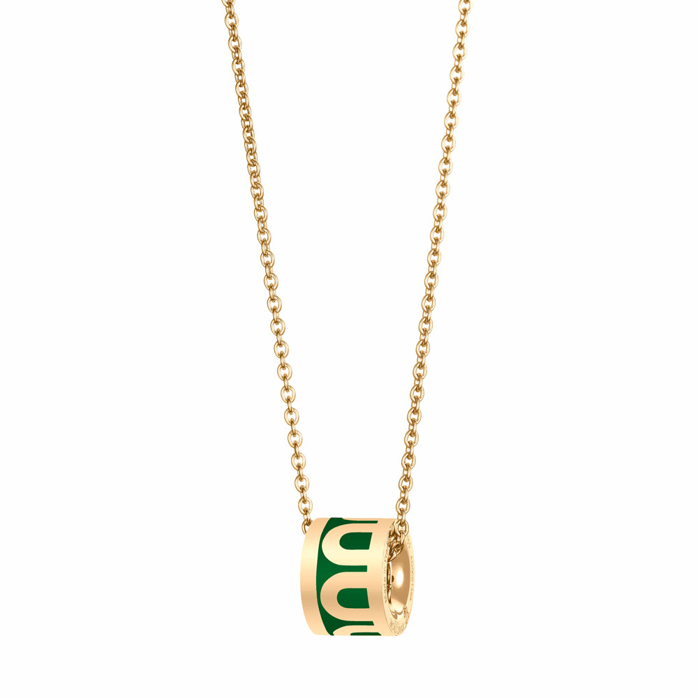 "18k Yellow Gold & Palais Royal Lacquer ""L'Arc"" Bead Pendant"