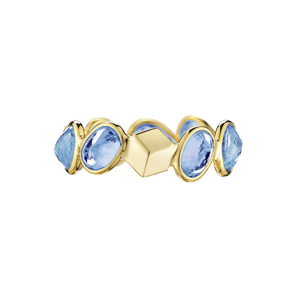 "Blue Sapphire ""Ombre"" Band Ring"