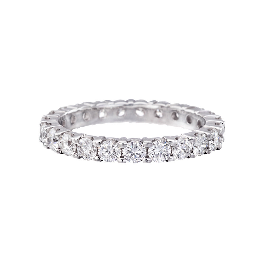 Round Brilliant Diamond Eternity Band (1.23ct tw)