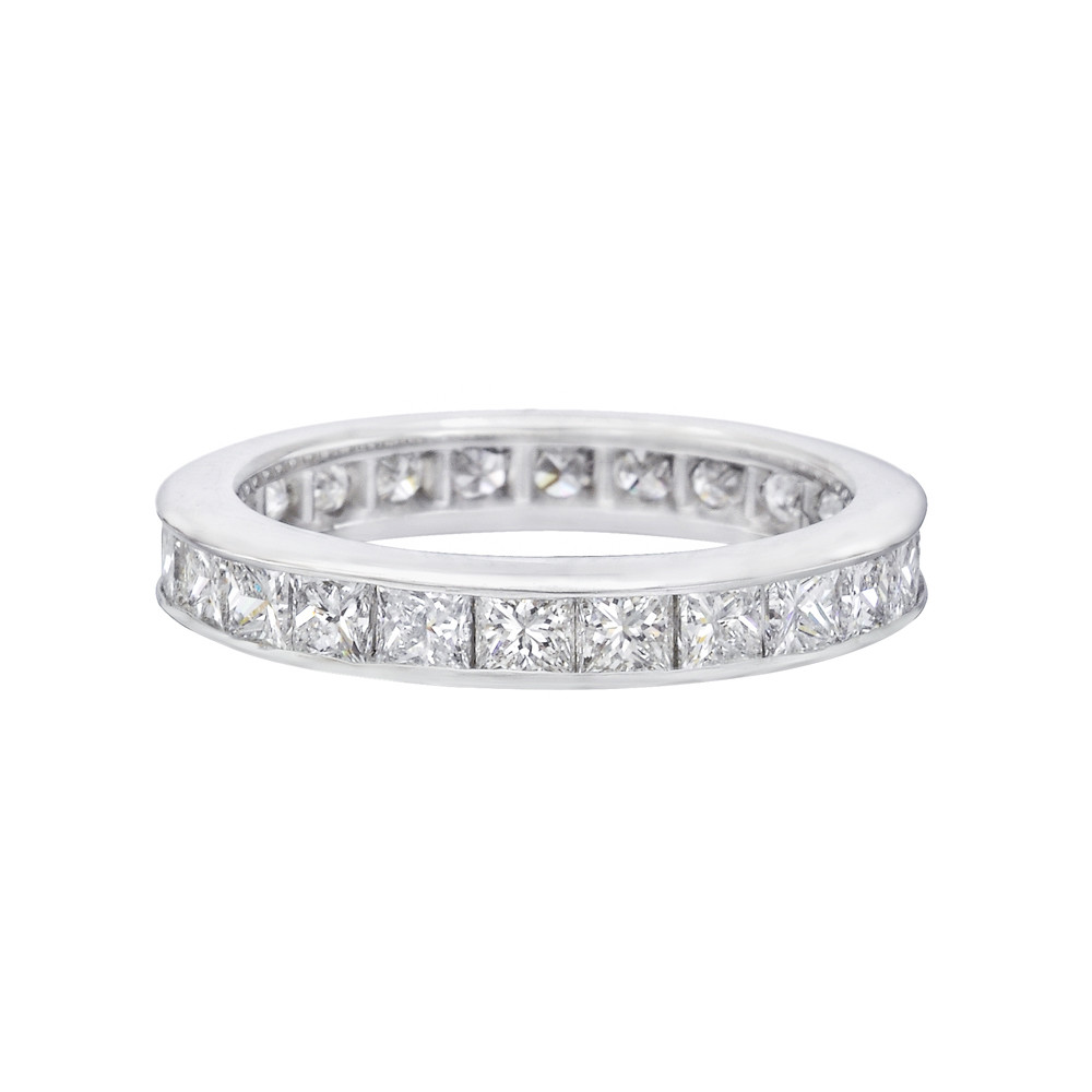 Princess-Cut Diamond Eternity Band (2.4 ct tw)