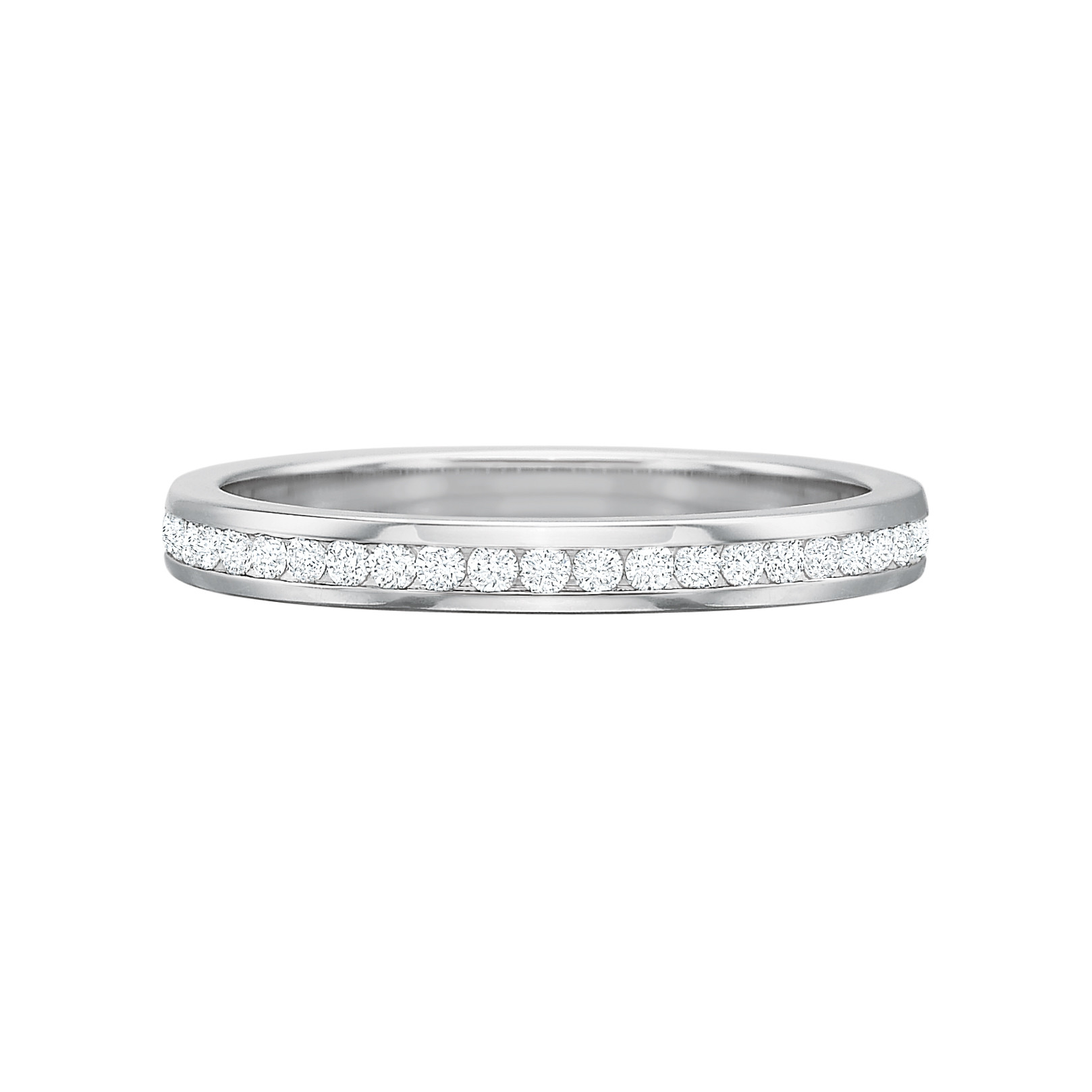 Channel-Set Diamond Eternity Band (0.35ct tw)