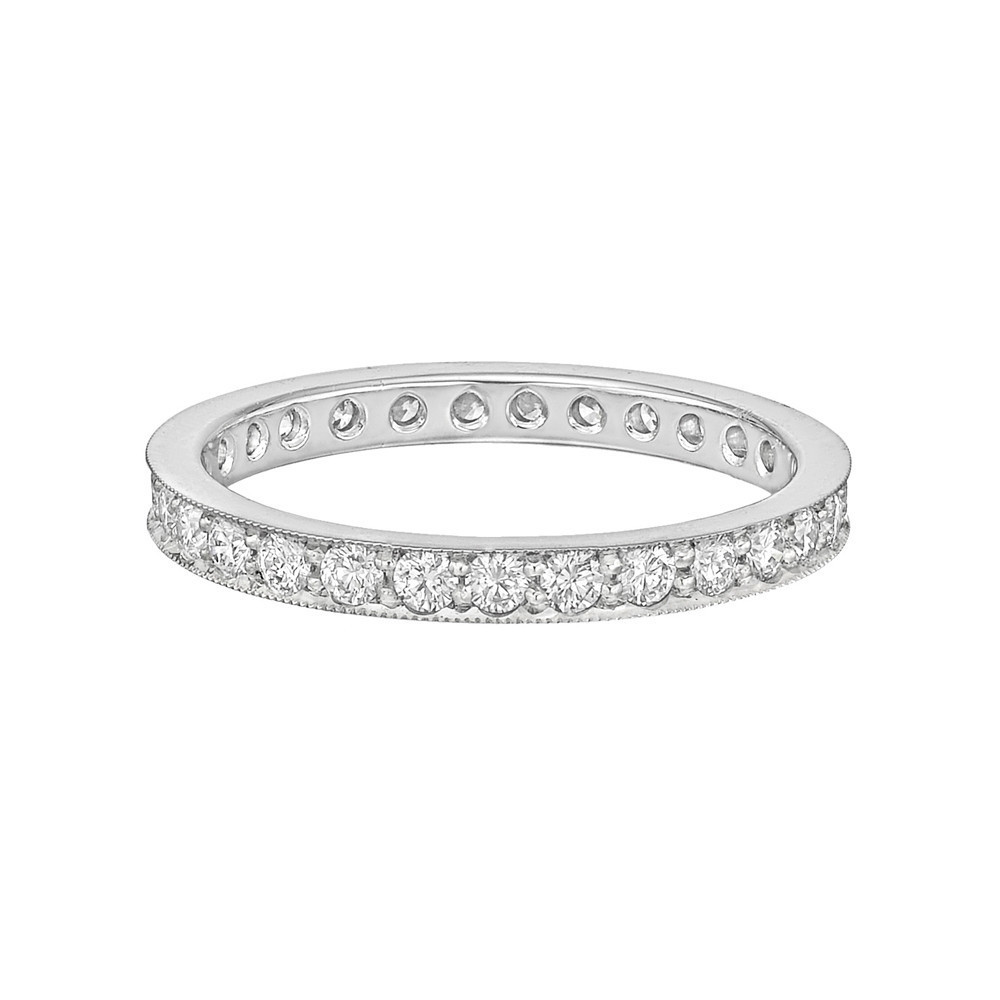 Round Brilliant Diamond Eternity Band (~0.8 ct tw)