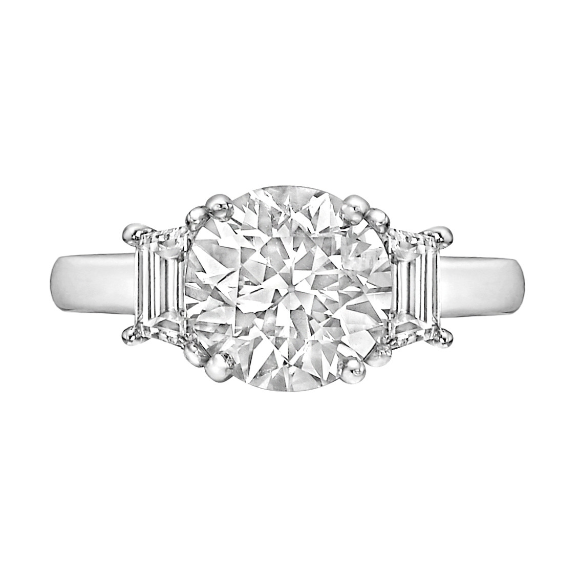 1.80ct Round Brilliant Diamond Ring (I/VS2)