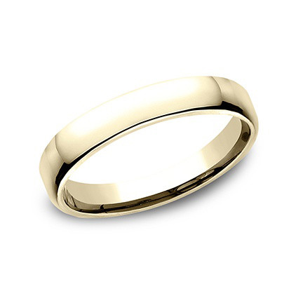 18k Yellow Gold Comfort Fit Wedding Band (3.5mm)