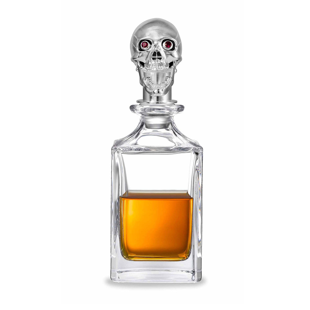 Skull Crystal Glass Decanter