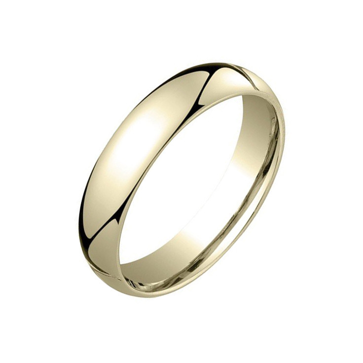 18k Yellow Gold Comfort Fit Wedding Band (5mm)