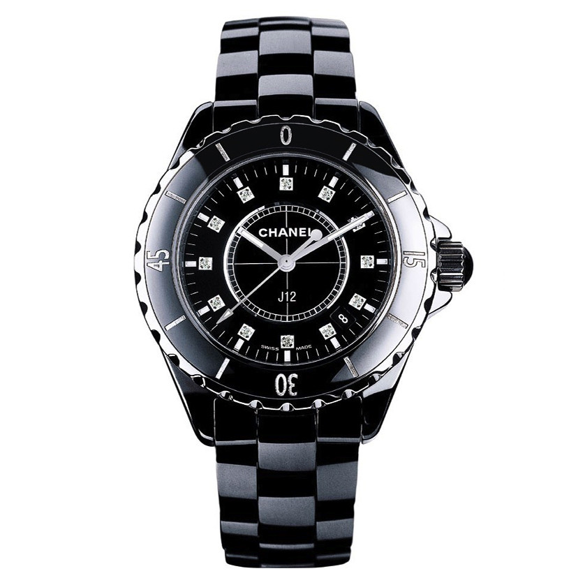 J12 33mm Black Ceramic (H1625)