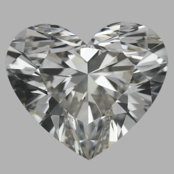 3.08 Carat Heart Diamond (H/IF)