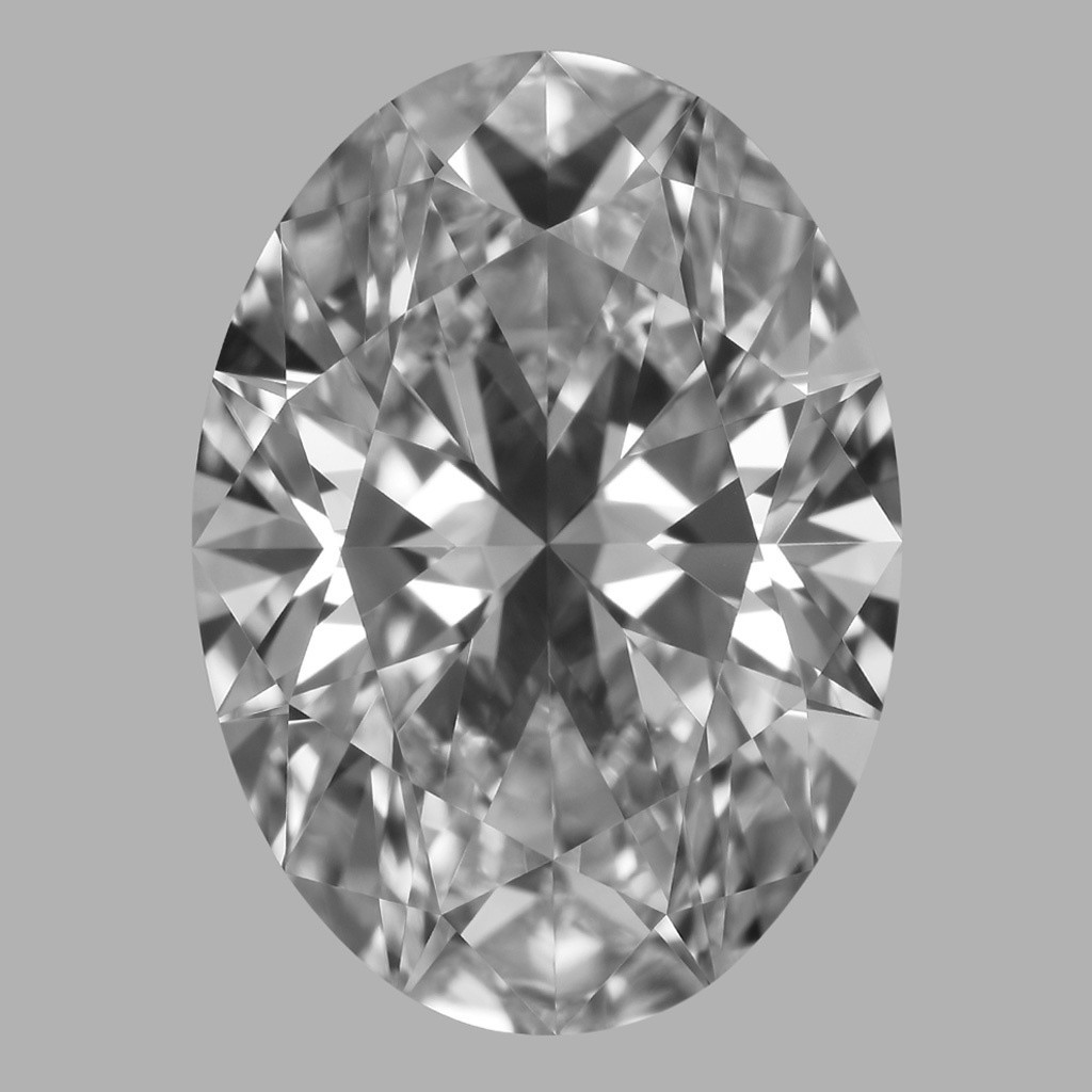 3.22 Carat Oval Diamond (D/IF)