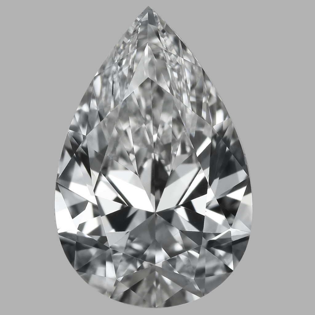 0.80 Carat Pear Diamond (D/VVS1)