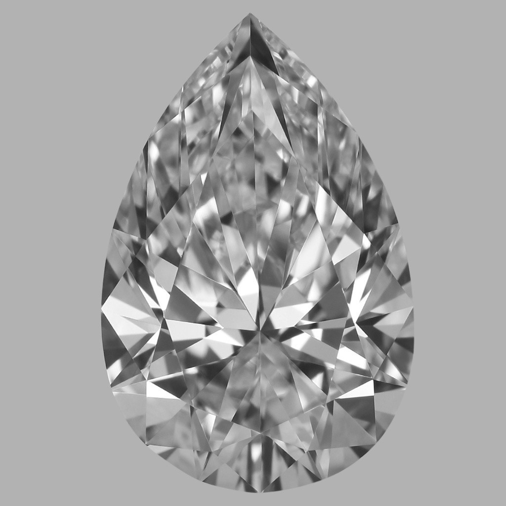 1.81 Carat Pear Diamond (D/VVS2)