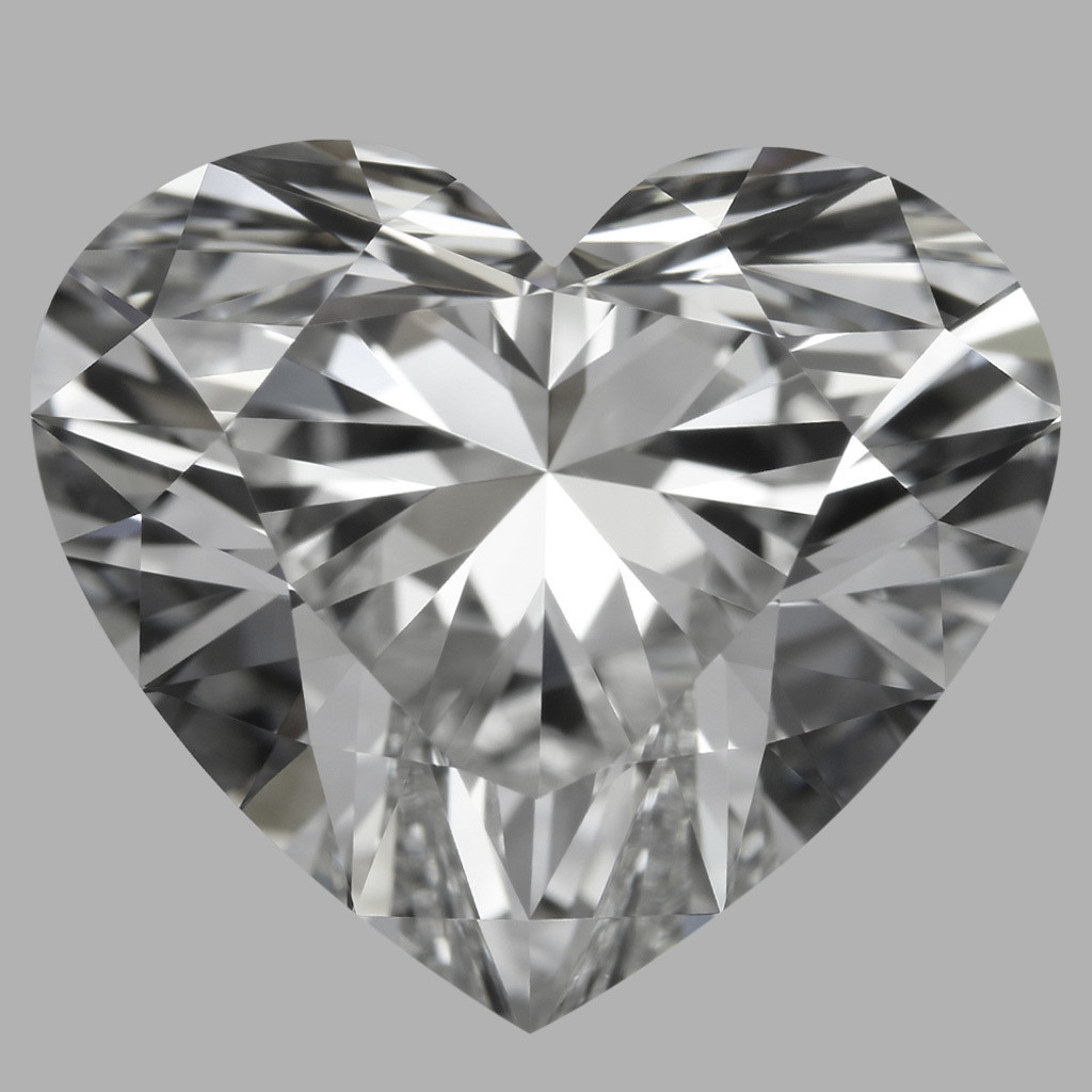 4.03 Carat Heart Diamond (F/IF)