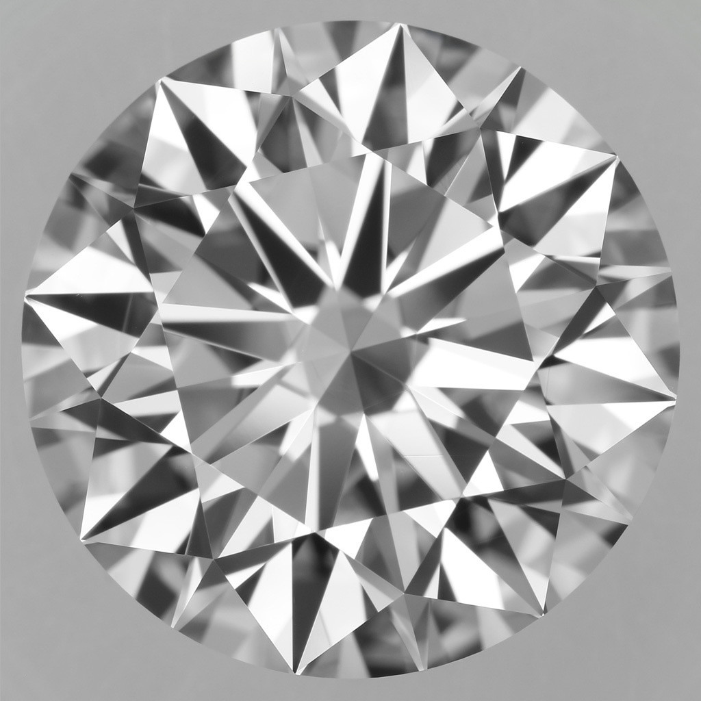 7.13 Carat Round Brilliant Diamond (D/VVS2)
