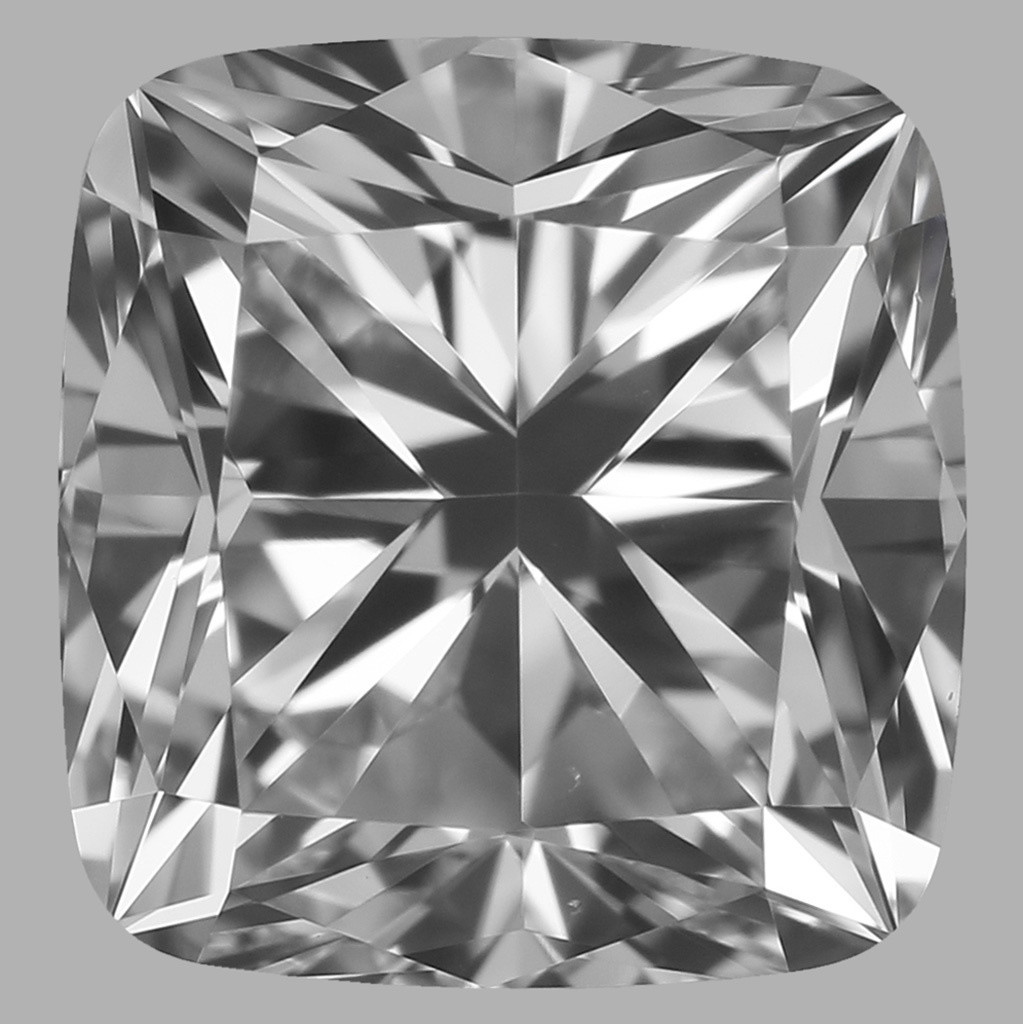 0.90 Carat Cushion Diamond (F/VS1)