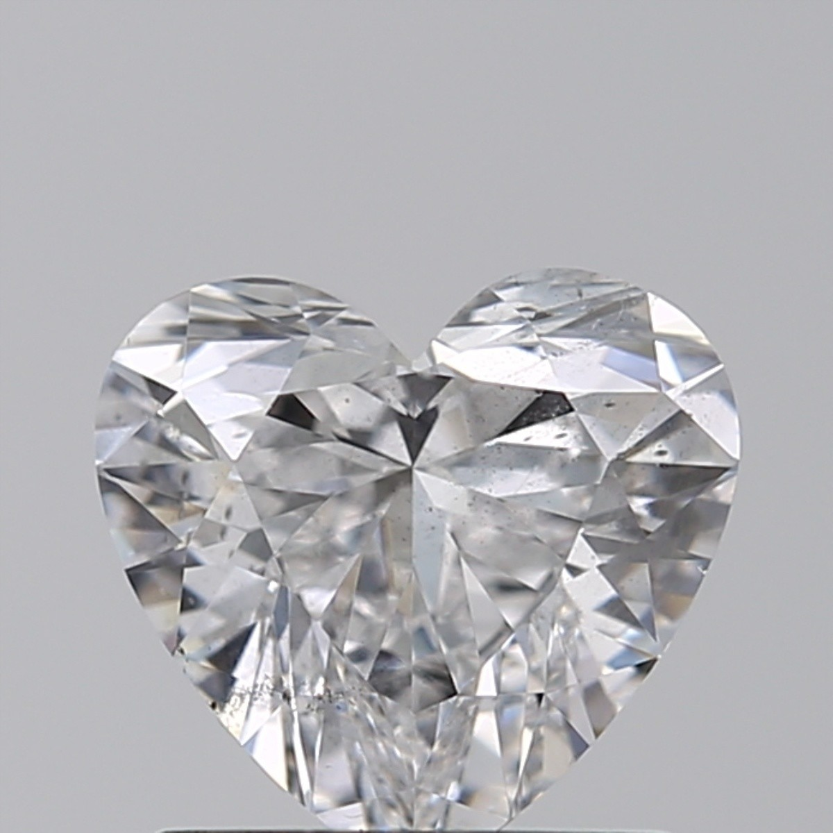 1.01 Carat Heart Diamond (D/SI1)