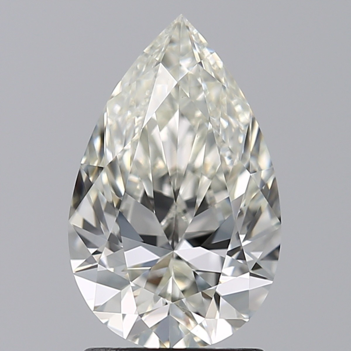 1.54 Carat Pear Diamond (J/VVS2)