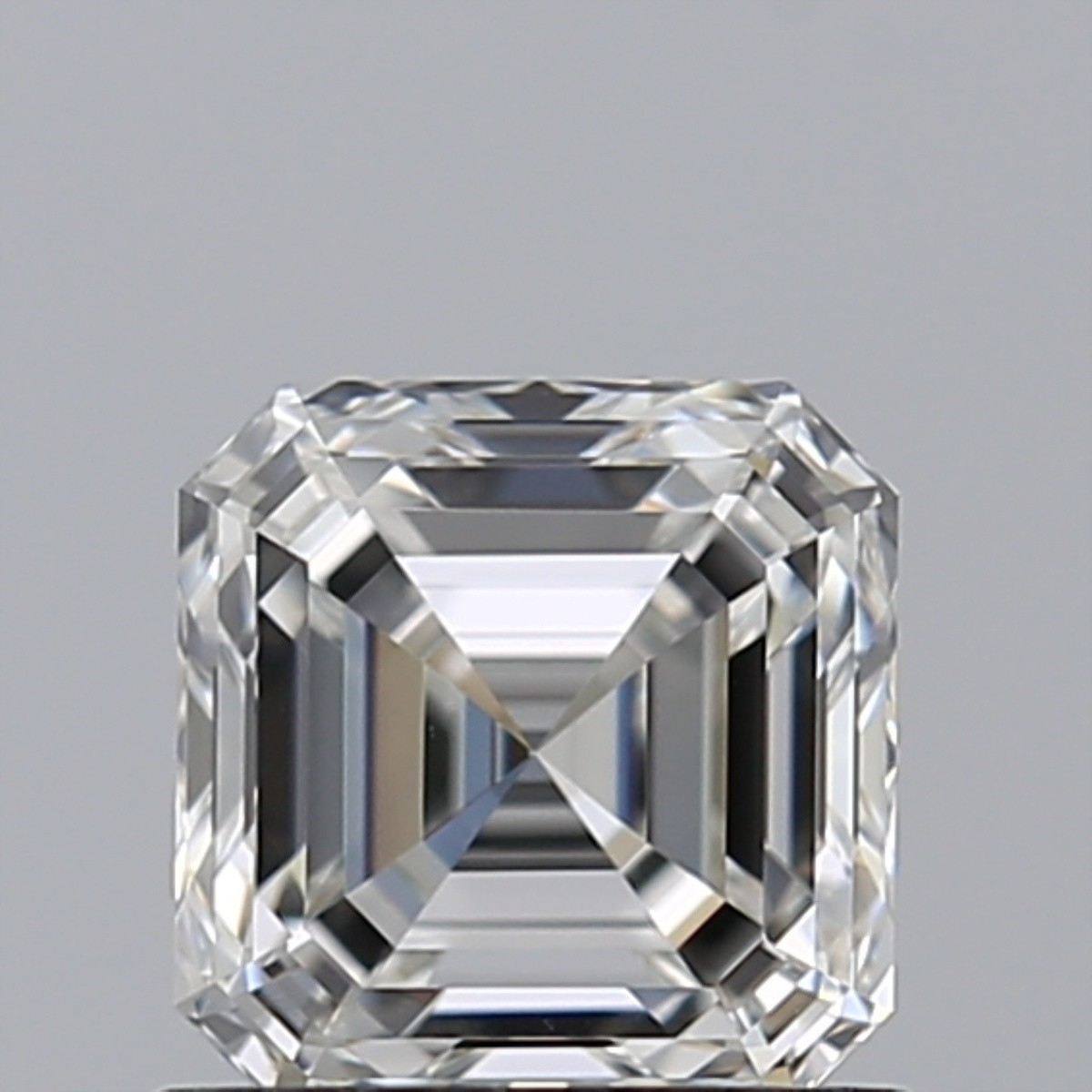 0.81 Carat Asscher Diamond (G/IF)