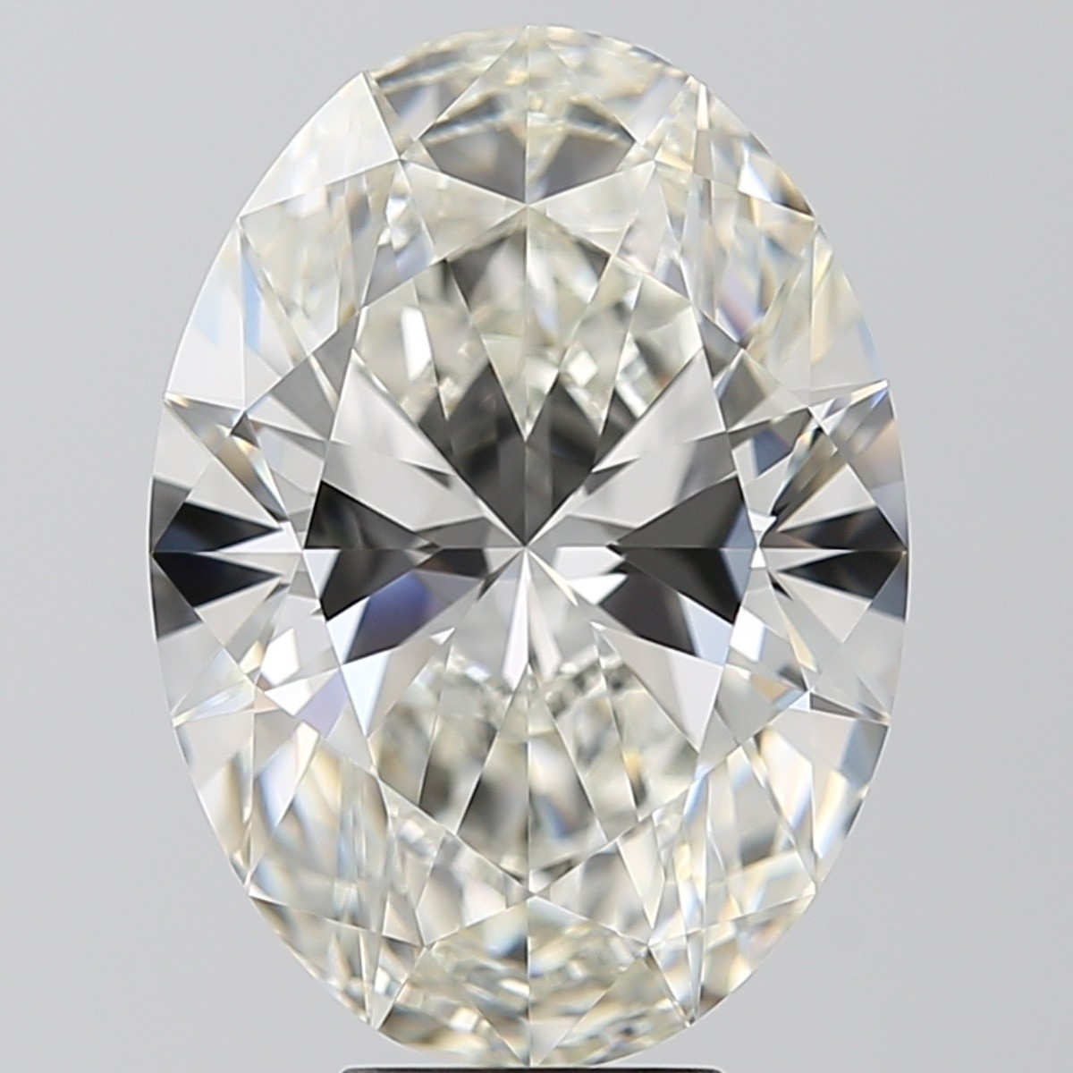 6.52 Carat Oval Diamond (I/VVS2)