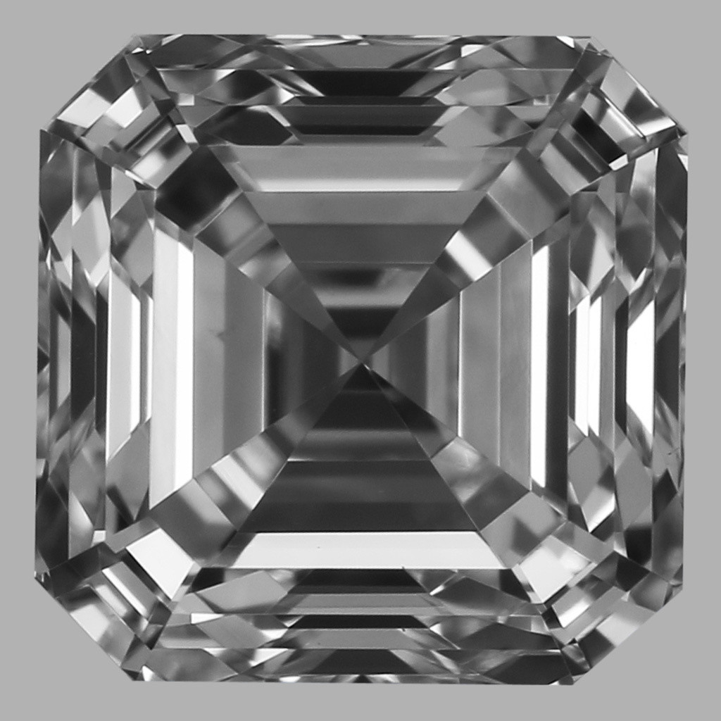 0.90 Carat Asscher Diamond (D/VS1)