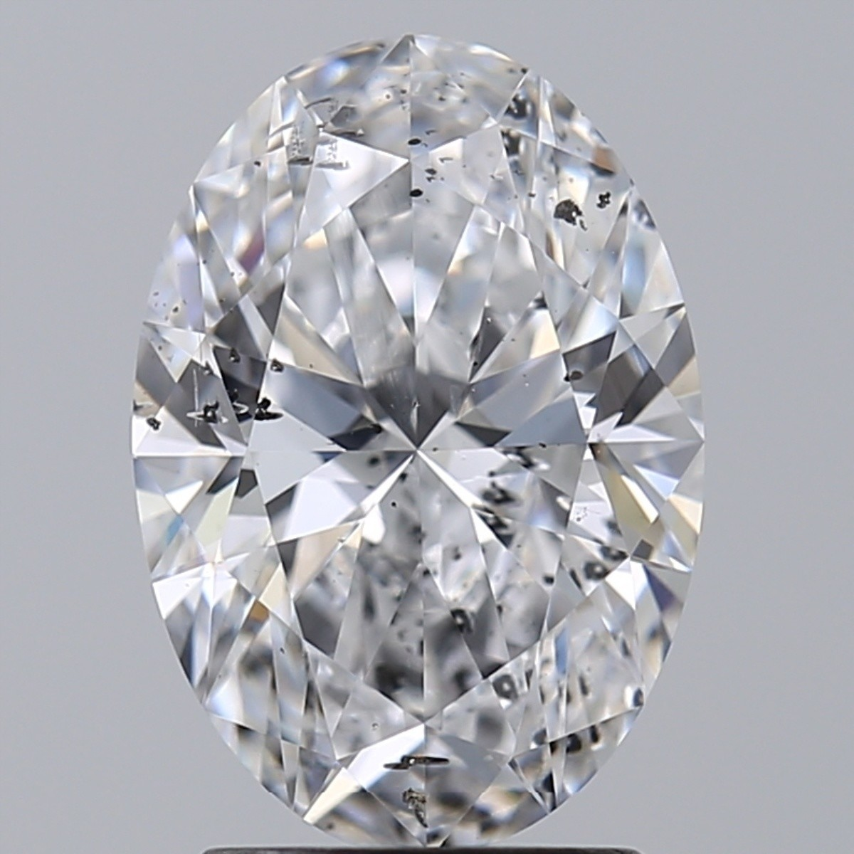 2.05 Carat Oval Diamond (D/SI2)