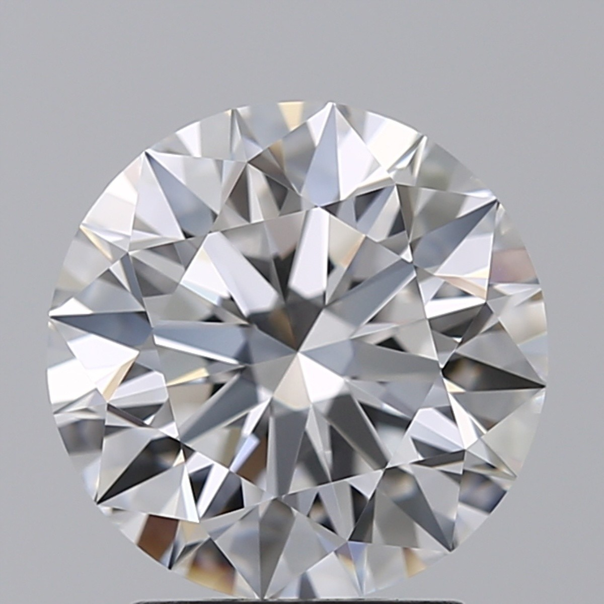 2.03 Carat Round Brilliant Diamond (D/FL)
