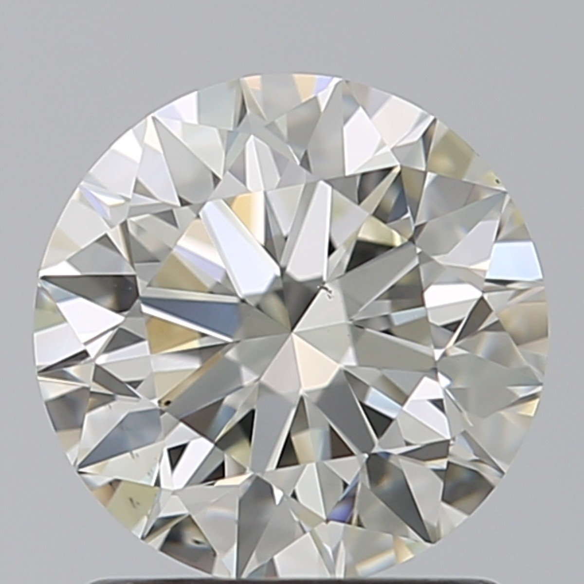 1.28 Carat Round Brilliant Diamond (J/VS2)
