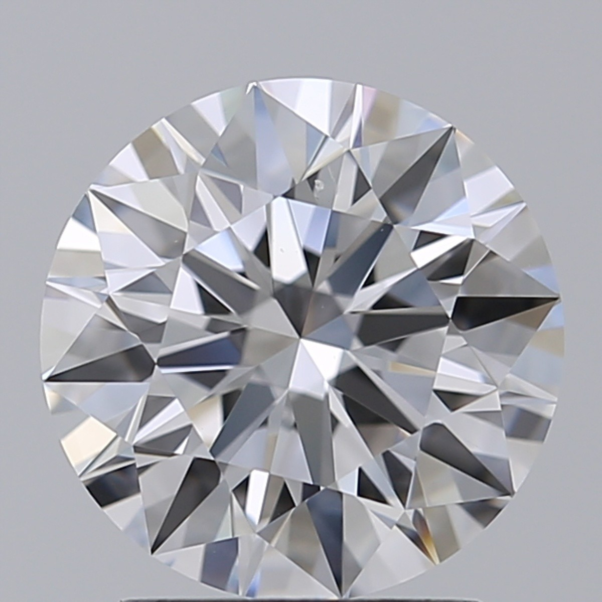 2.01 Carat Round Brilliant Diamond (D/VS1)