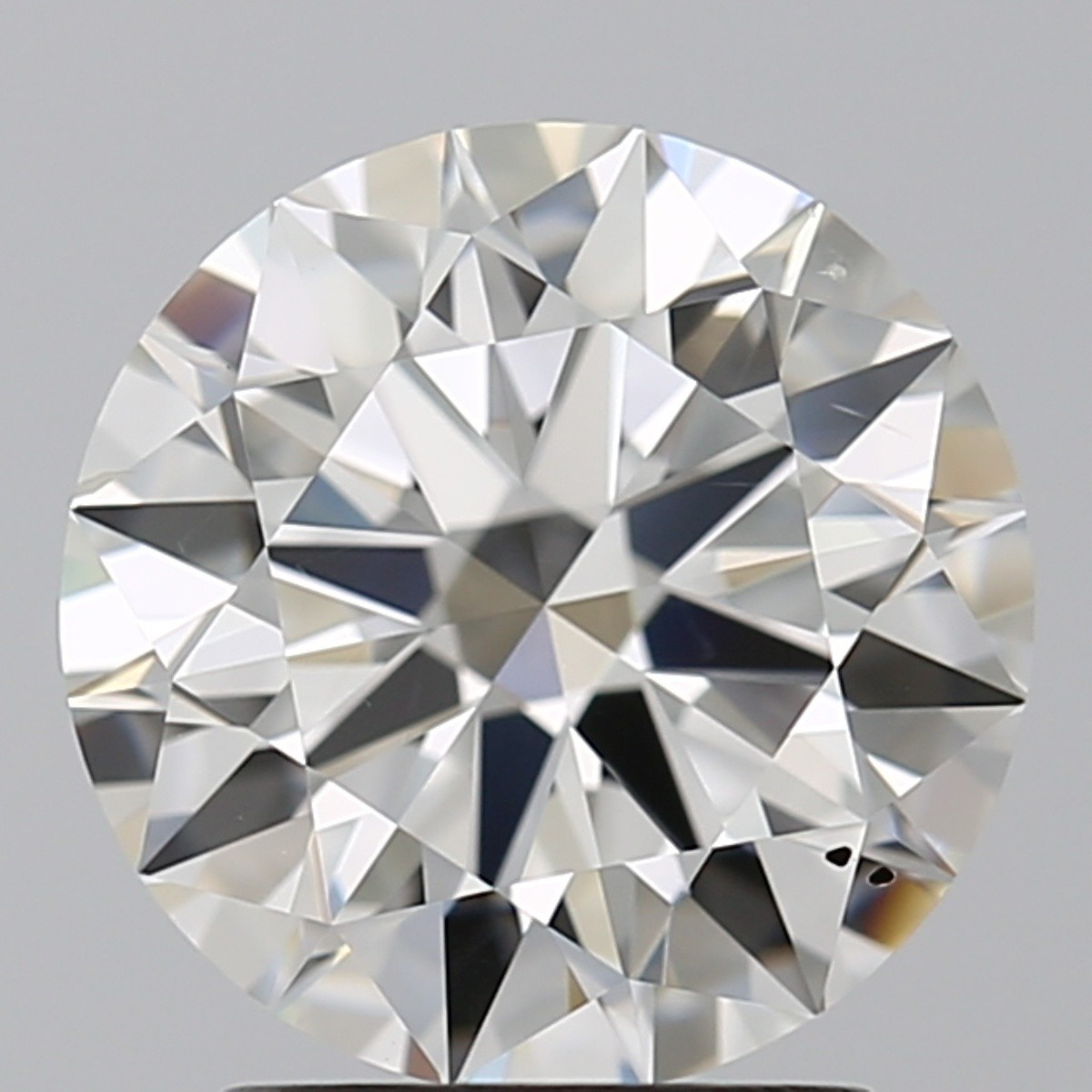 2.05 Carat Round Brilliant Diamond (F/SI1)