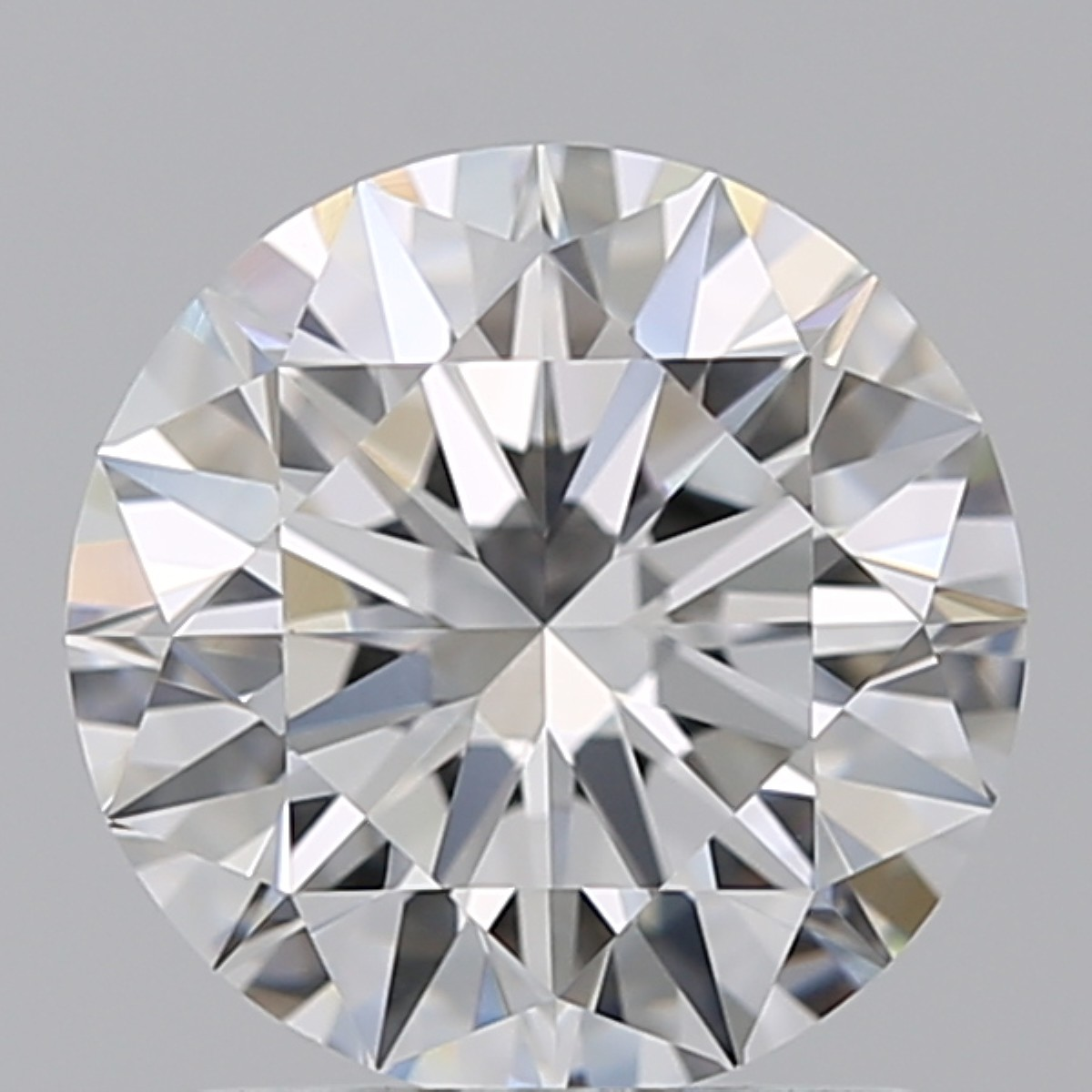 1.29 Carat Round Brilliant Diamond (D/VS1)