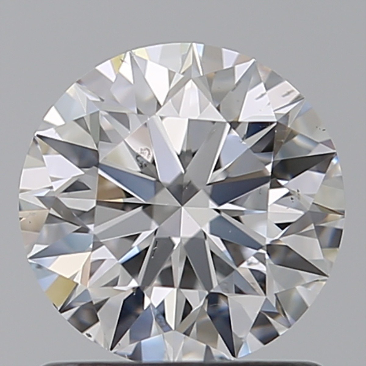 1.03 Carat Round Brilliant Diamond (D/SI1)